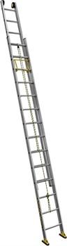 Двухсекционная выдвижная лестница Centaure C2 NEW с тросом 2х18 414418 - фото 101798
