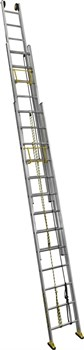 Алюминиевая выдвижная лестница Centaure C3 NEW с тросом 3х20 414620 - фото 101807