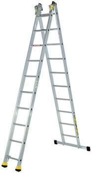 Алюминиевая двухсекционная лестница Centaure AT2 2x14 420214 - фото 101816