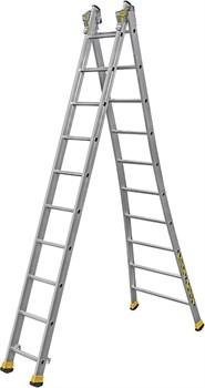 Алюминиевая двухсекционная лестница Centaure T2 2x10 410210 - фото 101821