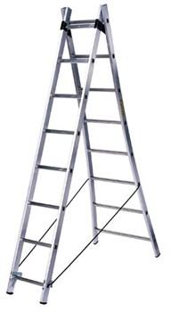 Алюминиевая двухсекционная лестница Centaure ВT2 2x9 263209 - фото 101827
