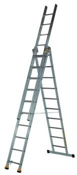 Алюминиевая трехсекционная лестница Centaure AT3 3х9 420309 - фото 101936