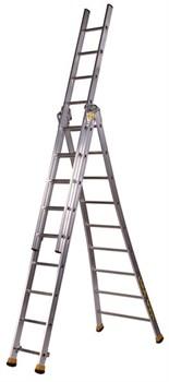 Алюминиевая трехсекционная лестница Centaure T3 3х8 410308 - фото 101941