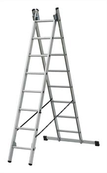Алюминиевая двухсекционная лестница Elkop 2x9 HK_VHR2X9 - фото 105507