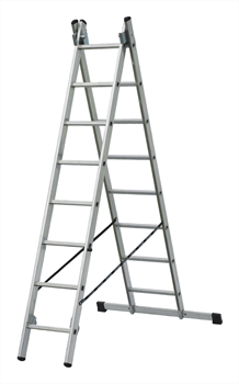 Алюминиевая двухсекционная лестница Elkop 2x15 PK_VHR2X15 - фото 105513