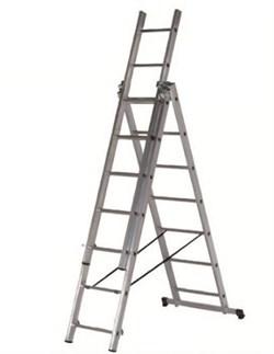 Алюминиевая трехсекционная лестница Centaure СК3 3х7 120307 (Россия) - фото 110370