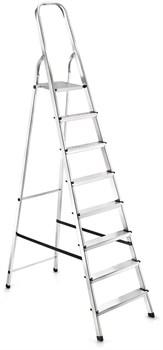Алюминиевая стремянка Zalger 8 ступеней 111-8 - фото 116689