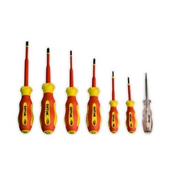 Набор диэлектрических отверток ШТОК 6шт+тестер 09330 - фото 134508