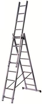 Алюминиевая трехсекционная лестница Centaure СК3 3х11 120311 - фото 135303