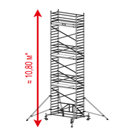 Алюминиевая вышка-тура Krause ProTec XS 10,8м 920089