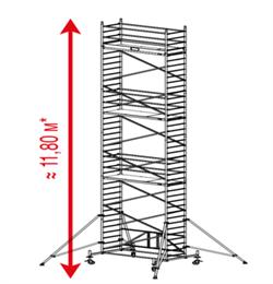 Алюминиевая вышка-тура Krause ProTec XS 11,8м 920096