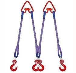 Четырехветвевый текстильный строп TOR 1 м 2,5 т - фото 154860