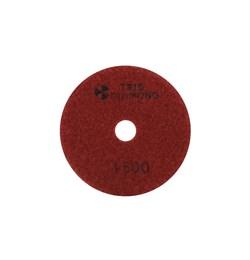 Алмазный гибкий шлифовальный круг Черепашка 100 мм №1500 Trio-Diamond 341500 - фото 155002