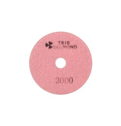 Алмазный гибкий шлифовальный круг Черепашка 100 мм №3000 Trio-Diamond 343000 - фото 155005