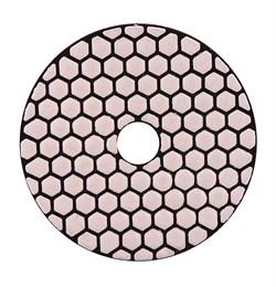 Алмазный гибкий шлифовальный круг Черепашка 100 мм №600 Trio-Diamond 360600 - фото 155031