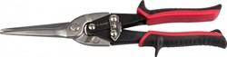 Рычажные прямые удлиненные ножницы по металлу Зубр Эксперт 290 мм 23104 - фото 155630