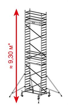 Алюминиевая вышка-тура Krause ProTec 9,3м 910172 - фото 157144