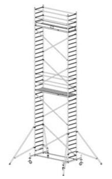 Алюминиевая вышка-тура Krause Stabilo 10 10,4м 731371 - фото 157166