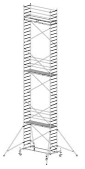 Алюминиевая вышка-тура Krause Stabilo 10 12,4м 731395 - фото 157168