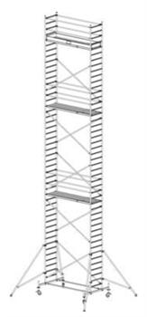 Алюминиевая вышка-тура Krause Stabilo 10 13,4м 731401 - фото 157169