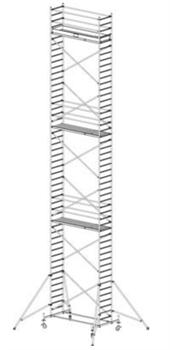 Алюминиевая вышка-тура Krause Stabilo 10 14,4м 731418 - фото 157170