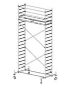 Алюминиевая вышка-тура Krause Stabilo 10 6,4м 741332 - фото 157174