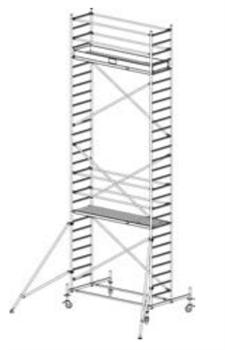 Алюминиевая вышка-тура Krause Stabilo 10 8,4м 741356 - фото 157176