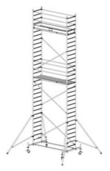 Алюминиевая вышка-тура Krause Stabilo 10 9,4м 741363 - фото 157177