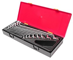 Набор накидных ключей 6-24мм 8 предметов в кейсе JTC-K6081 - фото 170595