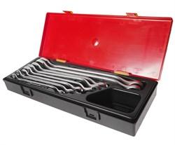 Набор накидных ключей 8-24мм 8 предметов в кейсе JTC-K6082 - фото 170598