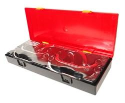 Набор накидных С-образных ключей 6 предметов в кейсе JTC-K6061 - фото 170604