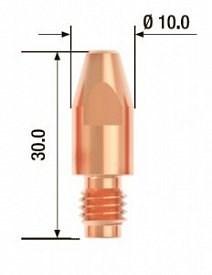 Контактный наконечник Fubag M8х30 мм ECU D=0,8 мм, 25 шт. - фото 171532