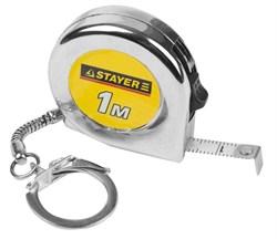 Рулетка-брелок Stayer Standard Mini 1 м х 6 мм 34140-1_z01 - фото 172052