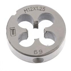 Плашка Сибртех М12x1,25 мм 77030 купить в Москве - цена, характеристики, фото и описание - SHVEDIK.RU