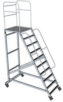 Передвижная лестница с платформой ЛСА-1,4 - фото 252041