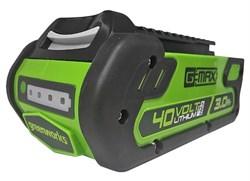 Аккумулятор GreenWorks G40B3 2925707      40V, 3 А.ч - фото 264531