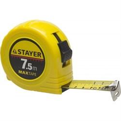 Рулетка Stayer Мaster MaxTape 7 м x 25 мм 34014-05-19 - фото 274156