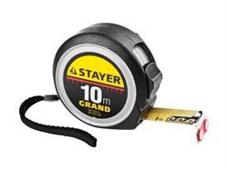 Рулетка Stayer Grand 10 м x 25 мм 3411-10-25 - фото 274183