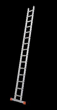 Алюминиевая приставная лестница Krause Sibilo 15 ступеней 129123 (120533) - фото 278880