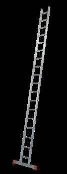 Алюминиевая приставная лестница Krause Sibilo 18 ступеней 129154 (121813) - фото 278883