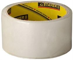 "Упаковочная лента Stayer ""Master"" коричневая 48мм 1204-50 - фото 81479"