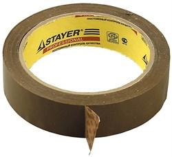 "Упаковочная лента Stayer ""Master"" коричневая 25мм 1207-25 - фото 81480"