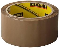 "Упаковочная лента Stayer ""Master"" коричневая 48мм 1207-50 - фото 81481"