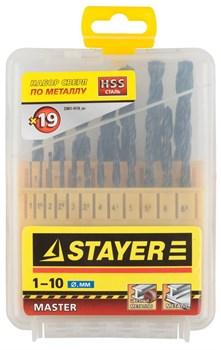 "Набор сверл Stayer ""MASTER"" по металлу 19шт 2961-H19_z01 - фото 82753"