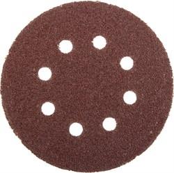"""Шлифовальный круг Stayer """"MASTER"""" абразивный, 8 отверстий, P40 125мм 5шт 3580-125-040 - фото 83059"""
