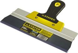 """Фасадный шпатель Stayer """"PROFESSIONAL"""" стальной 250мм 10045-25 - фото 83968"""