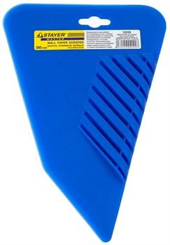 Обойный шпатель Stayer пластиковый 280мм 10205 - фото 83980