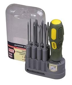 Набор отверток Stayer Max Grip 10шт 25911-H10 G - фото 86174