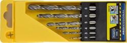 """Набор сверл Stayer """"PROFI"""" 6шт в пластиковом боксе 29602-H6 - фото 88570"""
