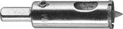 """Алмазная коронка ЗУБР """"Эксперт"""" с центрирующим сверлом, 18мм 29850-18 - фото 88993"""